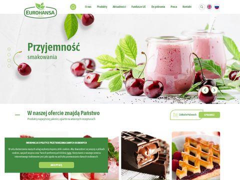 Producent wsadów smakowych Eurohansa