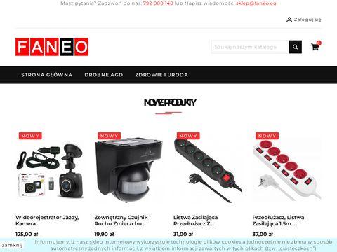 Sklep z drobnym AGD, elektronika - Faneo.eu