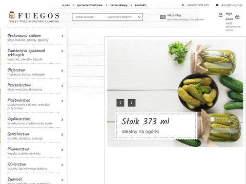 Sklep internetowy Fuegos - sprz臋t i akcesoria do przetw贸rstwa domowego