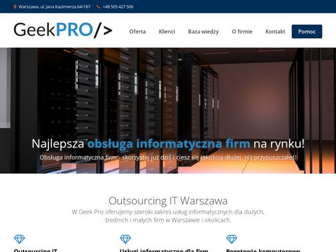 GeekPRO - outsourcing IT dla firm