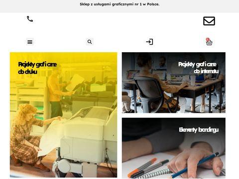 Grafikomat - projekty graficzne