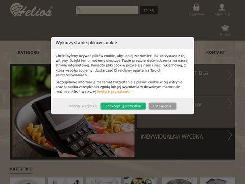 Wyposażenie gastronomii - Helios HoReCa