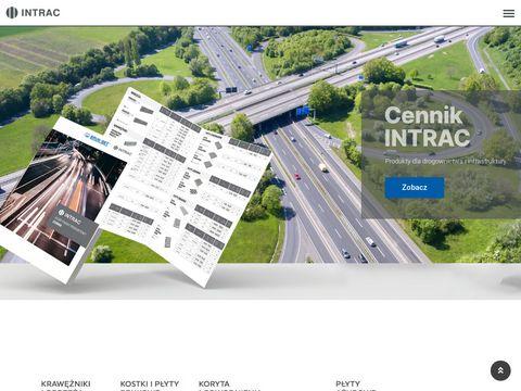 Intrac - Produkty dla dla infrastruktury i drogownictwa oraz studnie kanalizacyjne
