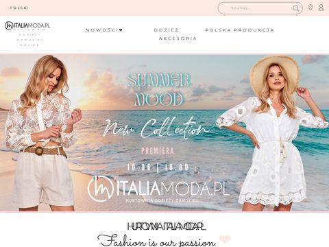 Hurtownia odzieży - italiamoda.pl