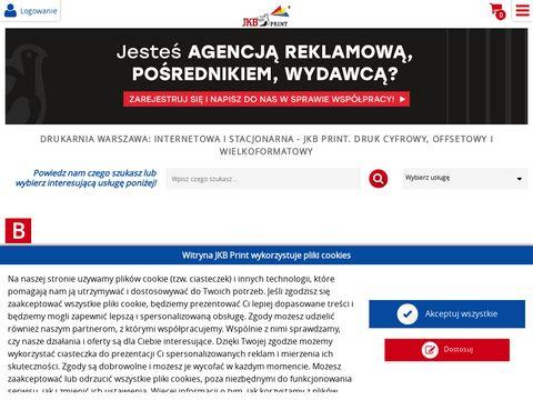 Drukarnia cyfrowa - jkbprint.pl