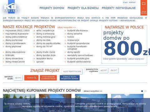 KB Projekt - Projekty dom贸w