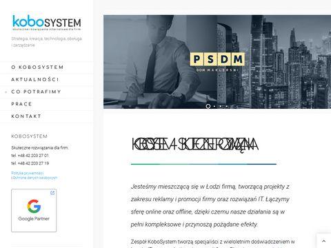 Agencja interaktywna i reklamowa KoboSystem | 艁贸d藕