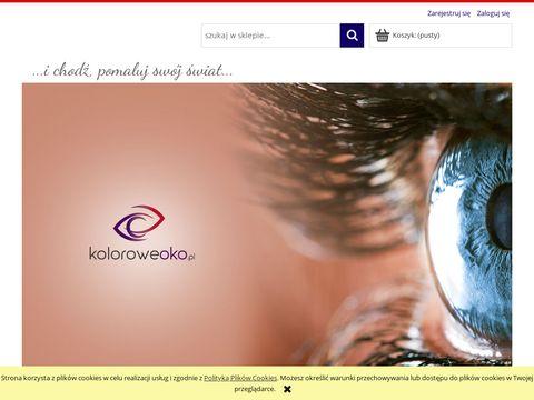 KoloroweOko.pl - sklep z kolorowymi soczewkami