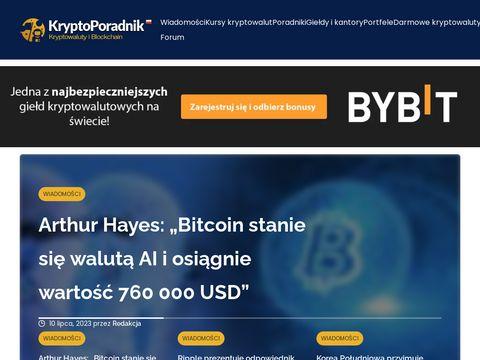 KryptoPoradnik - Twoje źródło wiedzy o kryptowalutach