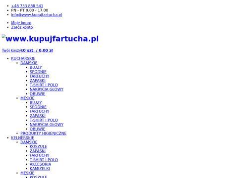 Kupujfartucha.pl spodnie kucharskie