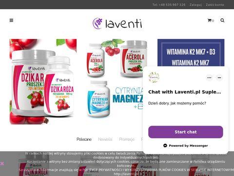 Naturalne Suplementy Diety - Laventi