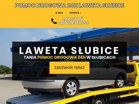 LAWETA S�UBICE tel. +48 604 381 555 POMOC DROGOWA 24h TANIE HOLOWANIE
