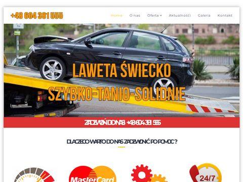Laweta Åšwiecko - Tanio, Szybko, Solidnie +48 604 381 555