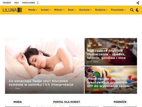 Sklep internetowy z odzieżą damską - Liluna.pl