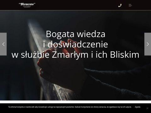 Memento - Zakład Pogrzebowy (Usługi pogrzebowe) - Pogrzeby Gorzów Wielkopolski