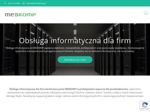 Obsługa informatyczna firm Katowice - Meskomp