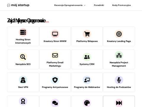 Mój Startup - Znajdź Oprogramowanie dla Twojego Biznesu