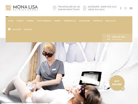 Gabinet kosmetyczny Poznań - monalisa-poznan.pl