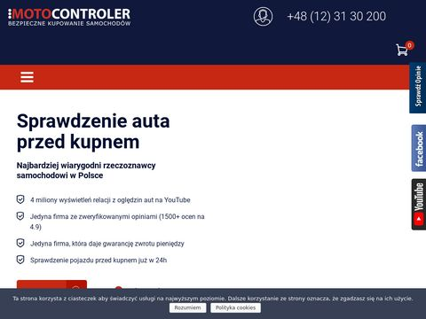Motocontroler.com 鈥� sprawdzanie samochod贸w przed zakupem