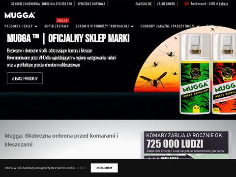 Mugga - Oficjalny sklep marki w Polsce- Åšrodki na komary |