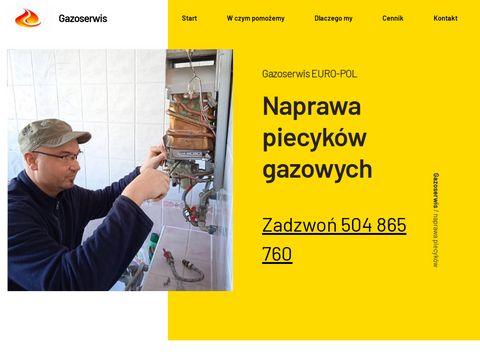 Gazoserwis EURO-POL - Naprawa piecyków