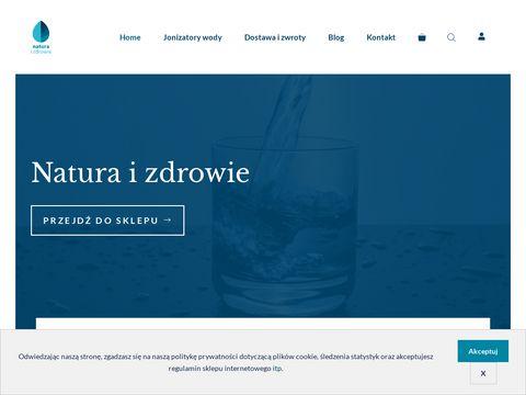 Woda jonizowana - Natura i Zdrowie