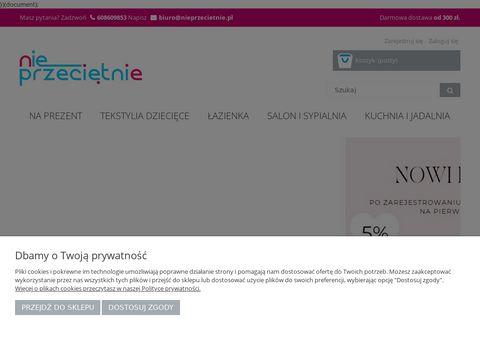 Sklep z poÅ›cielÄ… NIEprzeciÄ™tnie.pl - Tekstylia domowe