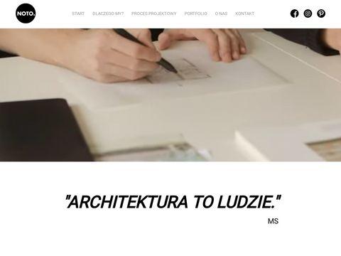 Projektowanie budynk贸w Warszawa - noto.studio