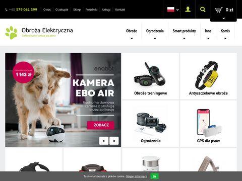 Obro偶a Elektryczna - Sklep internetowy z obro偶ami elektronicznymi dla psa