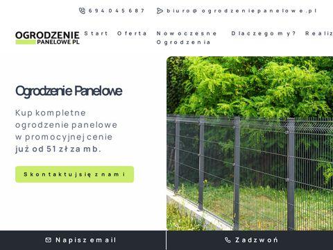 Ogrodzenia panelowe - ogrodzeniepanelowe.pl