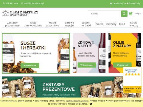 Naturalne oleje z natury