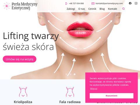 Mezoterapia ig艂owa Gliwice - perlamedycyny.com