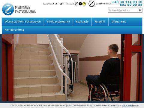 Platformy schodowe dla niepełnosprawnych | Lift Plus PL