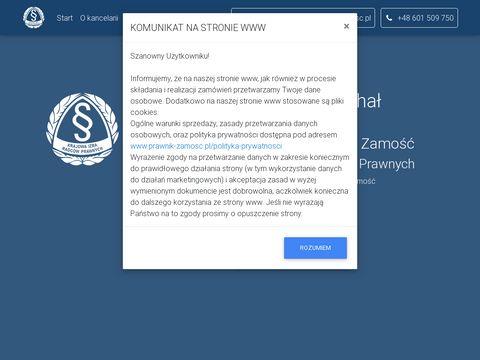 Kancelaria Radcy Prawnego Micha艂 Wierzchowski