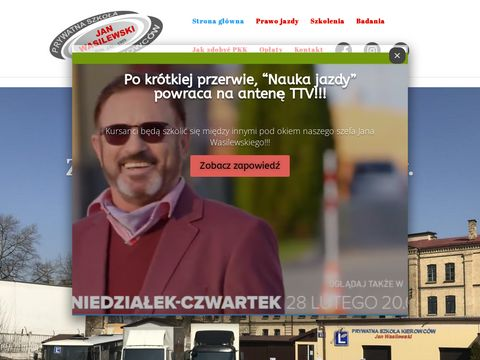 Prawo jazdy Suwa艂ki, Szkolenia kierowc贸w- PSK jan Wasilewski