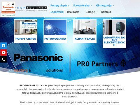 Fotowoltaika Radom | Proftechnik | Klimatyzacja | Pompy ciepła