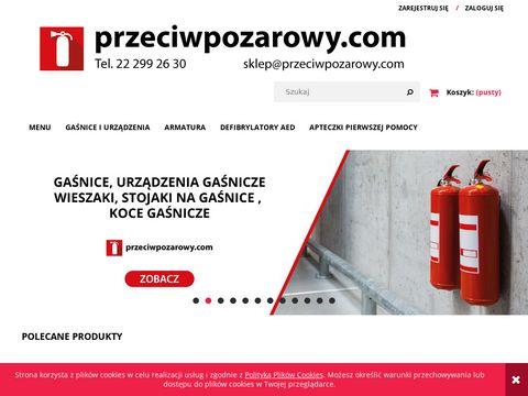 Sprzęt przeciwpożarowy - gaśnice i artykuły ppoż - przeciwpozarowy.com