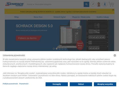 Schrack.pl - hurtownia elektryczna