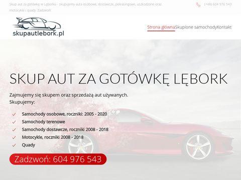 Skup aut za got贸wk臋 L臋bork