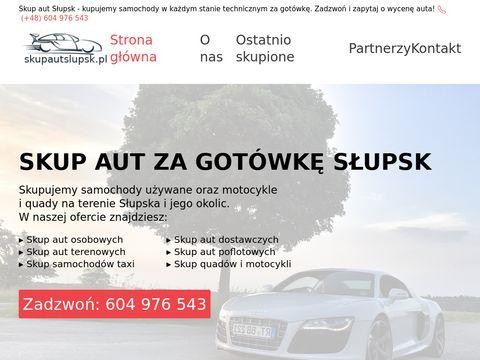 Skup aut dostawczych w SÅ'upsku