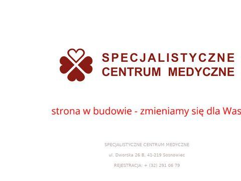 Specjalistyczne Centrum Medyczne - klejenie żylaków