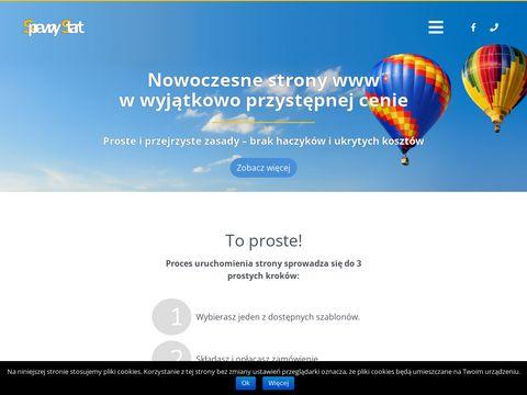Strony internetowe wordpress - sprawnystart.pl