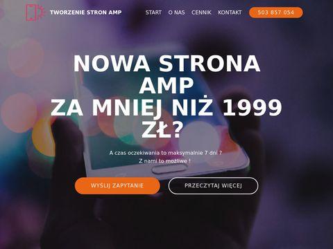 Stronyamp.pl - Tworzenie stron www
