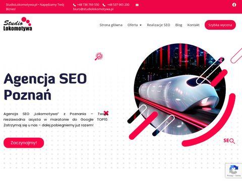Studio reklamowe Lokomotywa - Pozycjonowanie, strony www