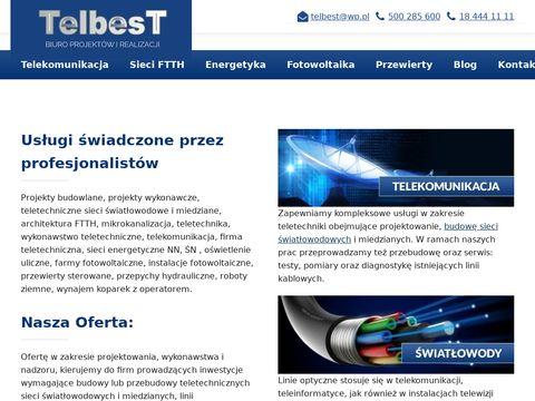 Spawanie światłowodów - Telbest