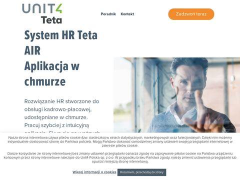 TETA AIR - oprogramowanie HR w chmurze