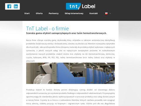 Producent etykiet TNT Label