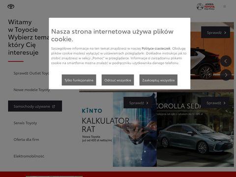 Autoryzowany Salon i Serwis   Toyota ANWA   Krak贸w