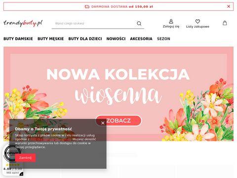 Trendybuty.pl   sklep obuwniczy online: buty dla dzieci, damskie i męskie