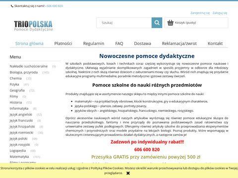 TRIOPOLSKA - Pomoce dydaktyczne dla szk贸艂